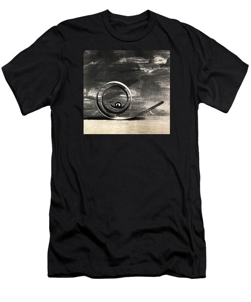 Spiral And Ball Men's T-Shirt (Athletic Fit)