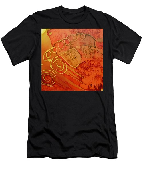 Spiral Men's T-Shirt (Athletic Fit)