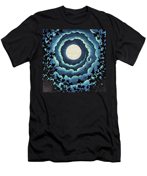 Spiral Clouds Men's T-Shirt (Athletic Fit)