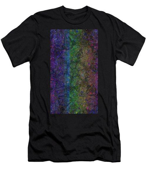 Spiral Spectrum Men's T-Shirt (Athletic Fit)