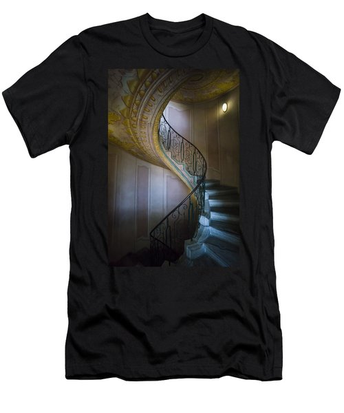 Spiral Staircase Melk Abbey II Men's T-Shirt (Athletic Fit)