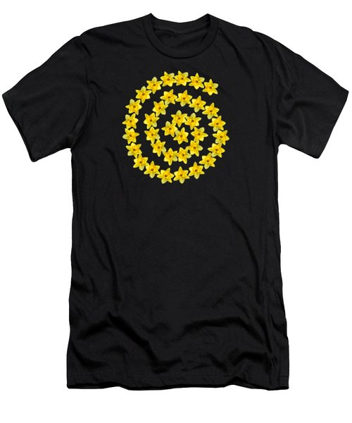 Spiral Symbol Men's T-Shirt (Athletic Fit)