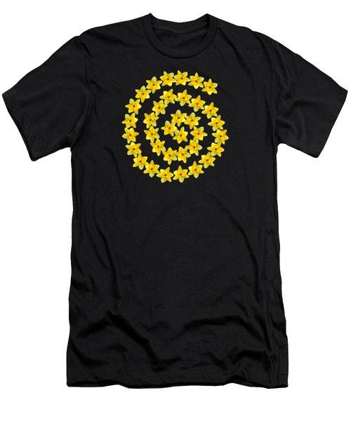 Spiral Symbol Men's T-Shirt (Athletic Fit)