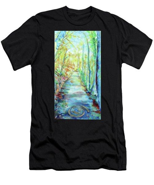 Spirale - Spiral Men's T-Shirt (Athletic Fit)
