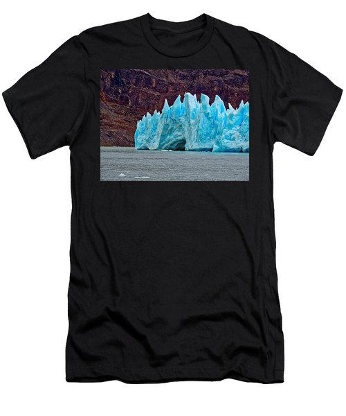 Spires Of Blue Men's T-Shirt (Athletic Fit)