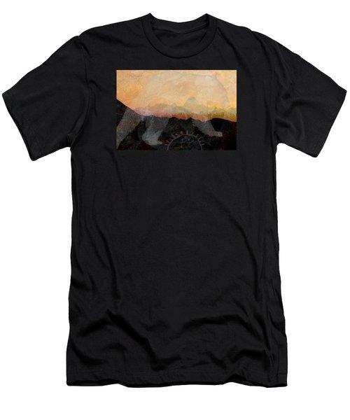 Spirit Bear # 6 Men's T-Shirt (Slim Fit) by Ed Hall