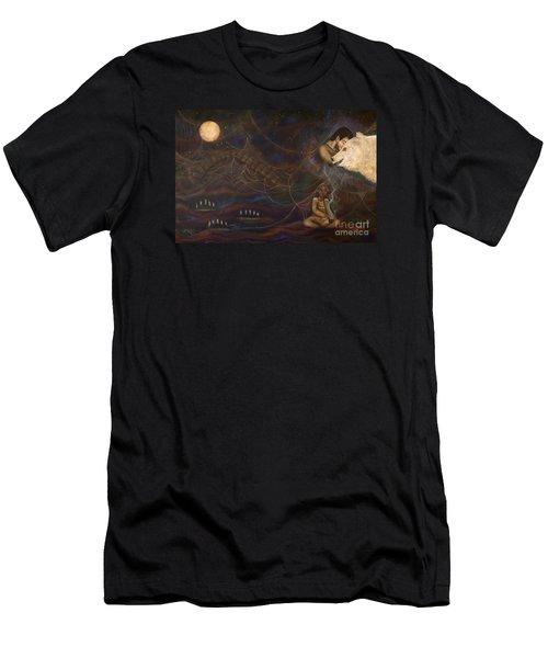 Spirit Bear Men's T-Shirt (Slim Fit) by Deborha Kerr