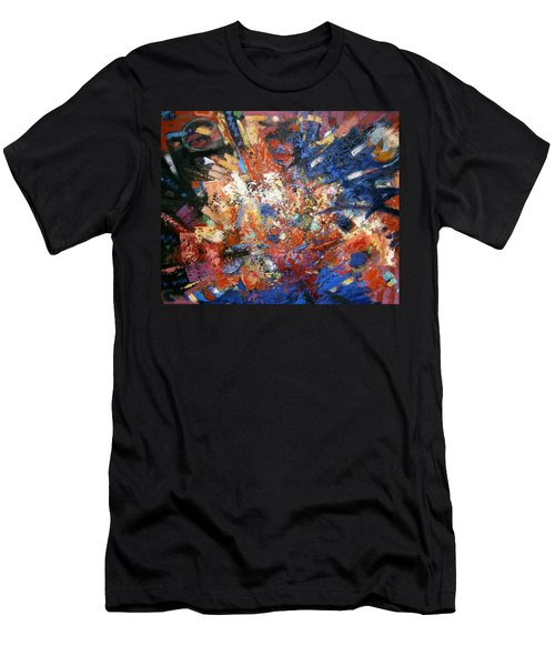 Men's T-Shirt (Slim Fit) featuring the painting Spirit by Gary Coleman