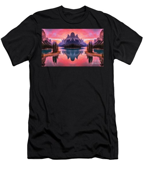 Spirit Island Reflections Men's T-Shirt (Athletic Fit)