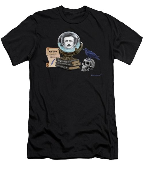 Spirit Of Edgar A. Poe Men's T-Shirt (Athletic Fit)