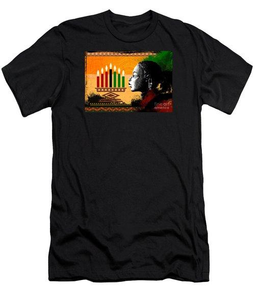Spirit Of Kwanzaa Men's T-Shirt (Athletic Fit)
