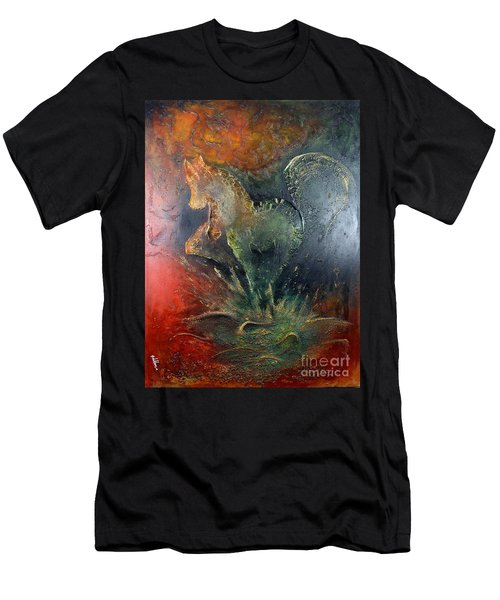 Spirit Of Mustang Men's T-Shirt (Athletic Fit)