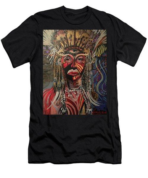 Spirit Portrait Men's T-Shirt (Athletic Fit)