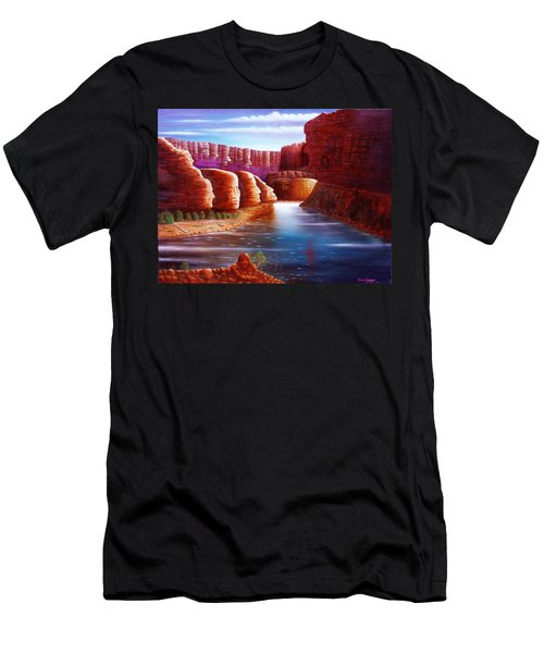 Spirits Of The River Men's T-Shirt (Athletic Fit)