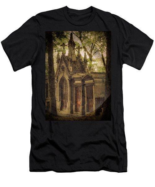 Paris, France - Spirits - Pere-lachaise Men's T-Shirt (Athletic Fit)