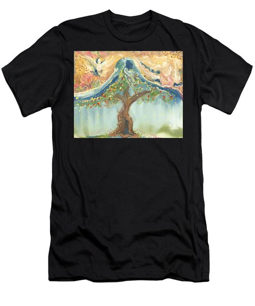 Spiritual Embrace Men's T-Shirt (Athletic Fit)