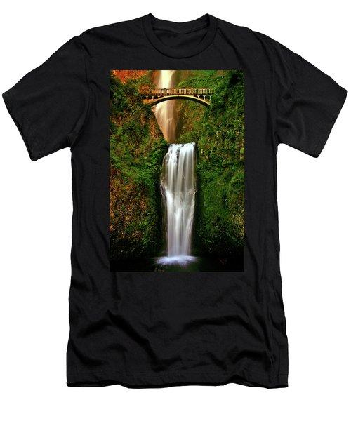 Spiritual Falls Men's T-Shirt (Slim Fit) by Scott Mahon