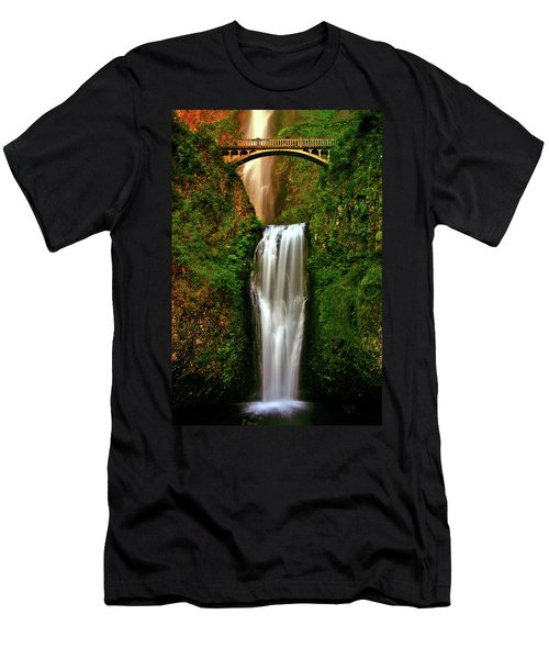 Spiritual Falls Men's T-Shirt (Athletic Fit)