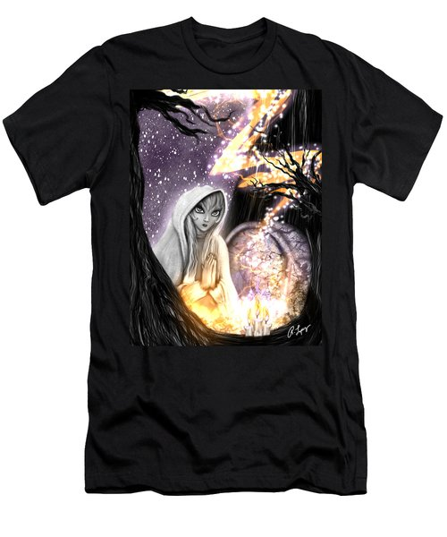 Spiritual Ghost Fantasy Art Men's T-Shirt (Athletic Fit)