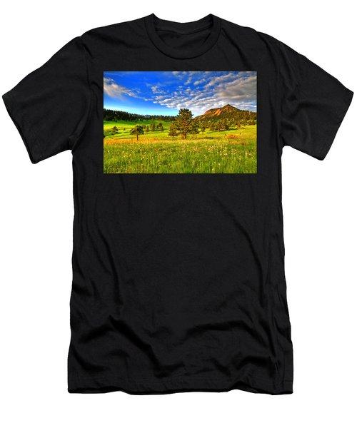 Spiritual Sky Men's T-Shirt (Athletic Fit)