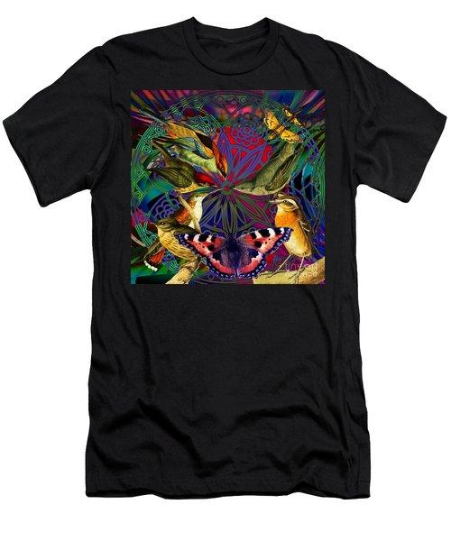 Spiritual Sun Behind The Sun Men's T-Shirt (Athletic Fit)