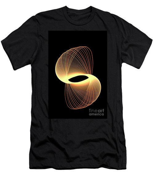 Spirograph Spiral 07 Men's T-Shirt (Athletic Fit)