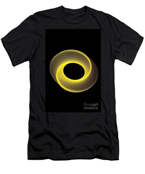 Spirograph Spiral 09 Men's T-Shirt (Athletic Fit)