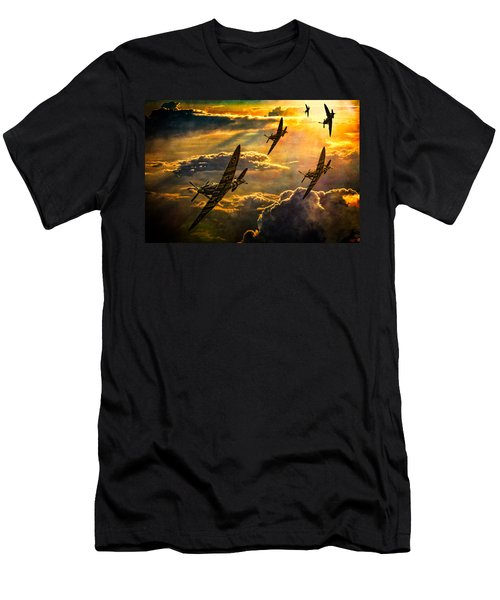 Spitfire Attack Men's T-Shirt (Athletic Fit)