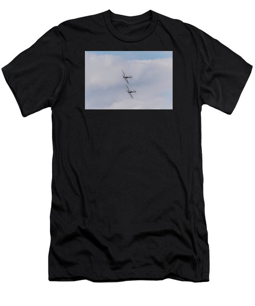 Spitfire Formation Pair Men's T-Shirt (Athletic Fit)