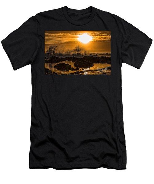 Splash Men's T-Shirt (Slim Fit) by Billie-Jo Miller