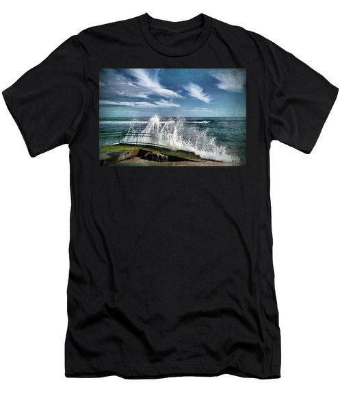 Splash Happy Men's T-Shirt (Athletic Fit)