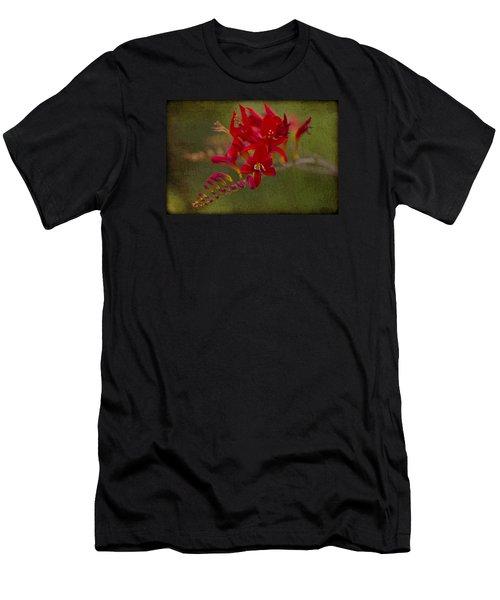 Splash Of Red. Men's T-Shirt (Athletic Fit)