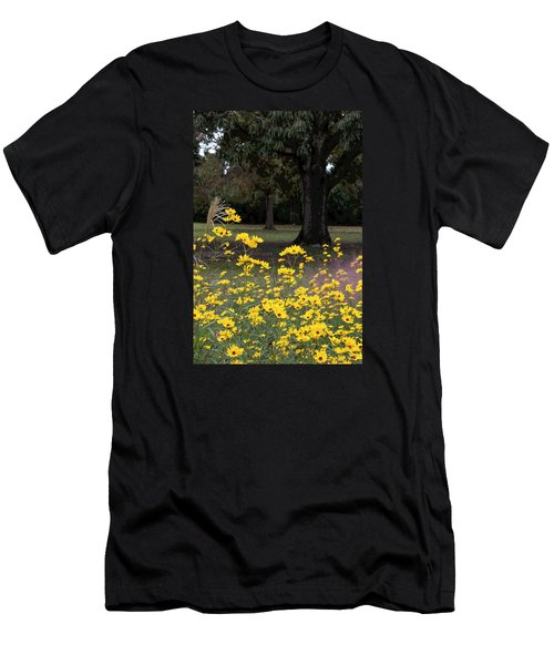 Splashes Of Yellow Men's T-Shirt (Athletic Fit)
