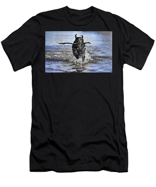 Splashing Fun Men's T-Shirt (Athletic Fit)
