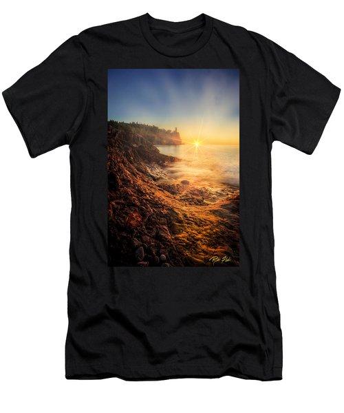 Split Rock Glory Men's T-Shirt (Athletic Fit)