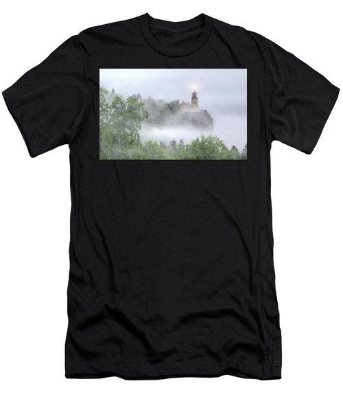 Split Rock Lighthouse Lake Superior North Shore Men's T-Shirt (Athletic Fit)