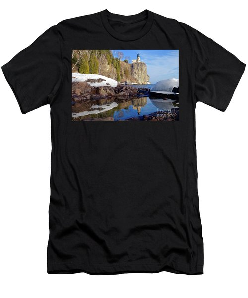 Split Rock Reflections Men's T-Shirt (Athletic Fit)