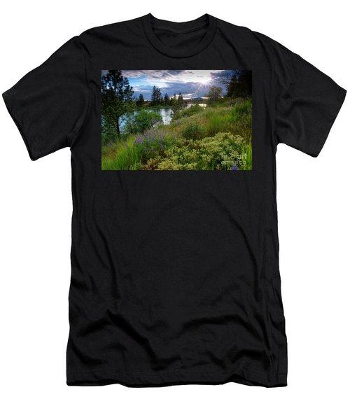 Spokane River Spring Men's T-Shirt (Athletic Fit)