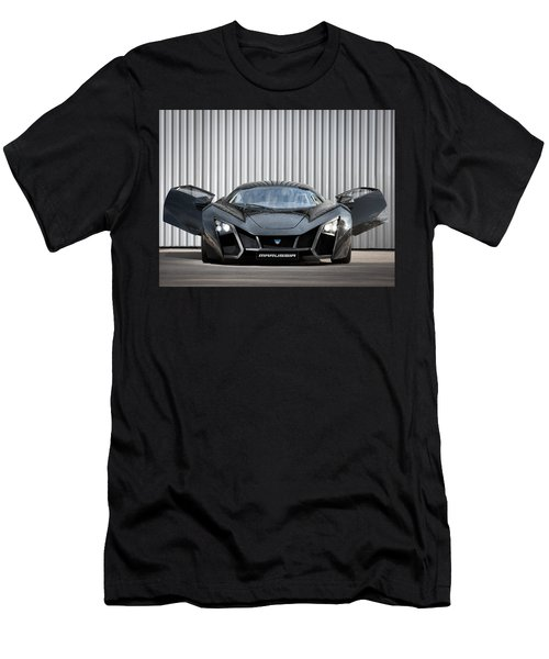 Sports Car Men's T-Shirt (Athletic Fit)