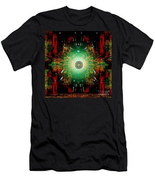 Spot Light Men's T-Shirt (Athletic Fit)