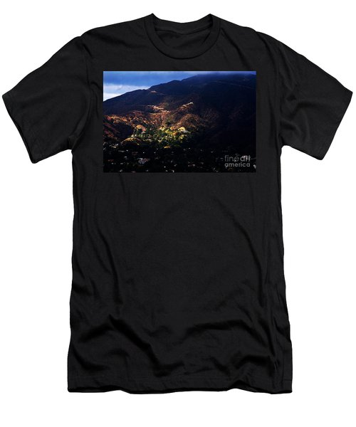 Spotlight From The Heavens Men's T-Shirt (Athletic Fit)