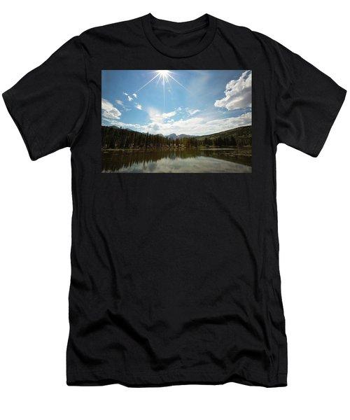 Sprague Lake Men's T-Shirt (Athletic Fit)