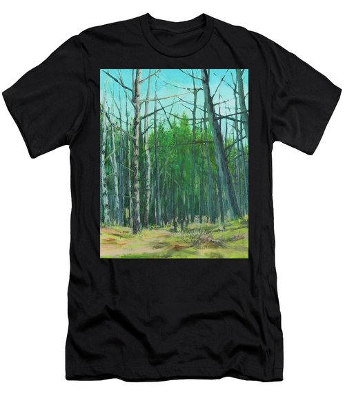 Spring Aspens Men's T-Shirt (Athletic Fit)