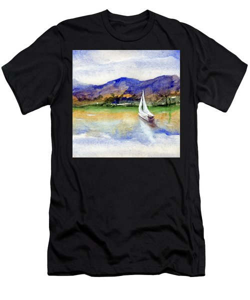Spring At Our Island Men's T-Shirt (Athletic Fit)