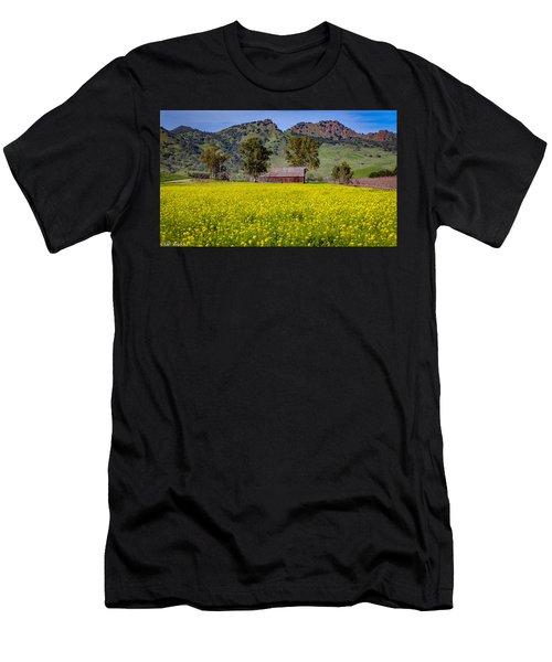 Spring Barn Men's T-Shirt (Athletic Fit)