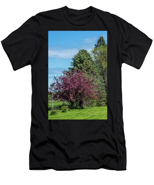 Men's T-Shirt (Slim Fit) featuring the photograph Spring Blossoms by Paul Freidlund