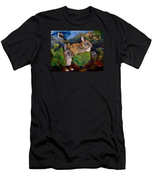 Spring Break Men's T-Shirt (Slim Fit) by Marika Evanson