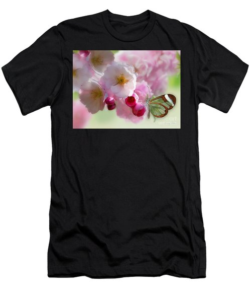 Spring Cherry Blossom Men's T-Shirt (Athletic Fit)