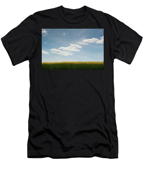 Spring Day Clouds Men's T-Shirt (Athletic Fit)