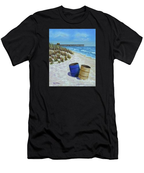 Spring Day On The Beach Men's T-Shirt (Athletic Fit)
